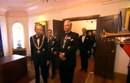 În premieră: România tratată regeşte - Regele Mihai I, celebrat cu mare fast la Casa Regală a Marii Britanii