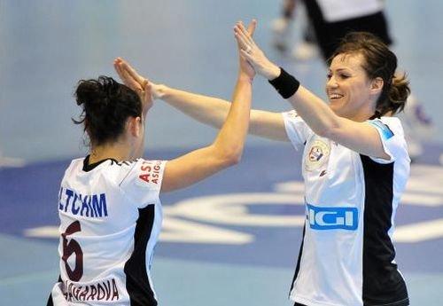 Oltchim Râmnicu Vâlcea a încheiat prima fază a grupelor din Liga Campionilor cu punctaj maxim