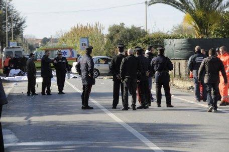 Şase români au murit într-un accident feroviar în Italia