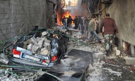 """Siria, """"tăiată"""" de la internet. Confruntări armate lângă Damasc. Guvernul ar putea pregăti un atac de amploare împotriva rebelilor"""