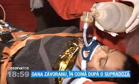 Oana Zăvoranu este în COMĂ! Aceasta respiră numai cu ajutorul aparatelor