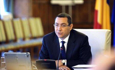 Ponta: Nu dăm bani pentru revoluţionarii care şi-au descoperit Revoluţia după 2000