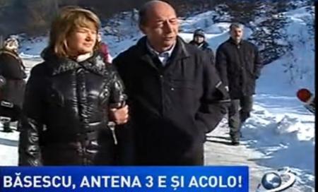 Traian Băsescu s-a supărat pe jurnalişti, chiar în ultima zi a anului 2012