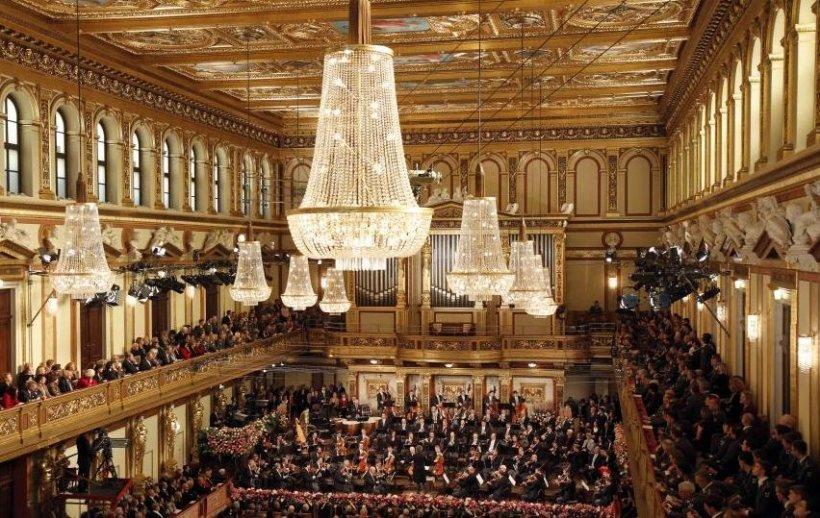 Imagini de la cel mai îndrăgit spectacol de muzică clasică al anului. Cum poţi ajunge şi tu la concertul de Anul Nou din Viena