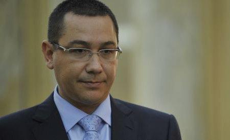 """Ponta: Joi prezint """"starea naţiunii"""" - ce datorii avem şi ce putem face. Bugetul nu a fost secretizat"""