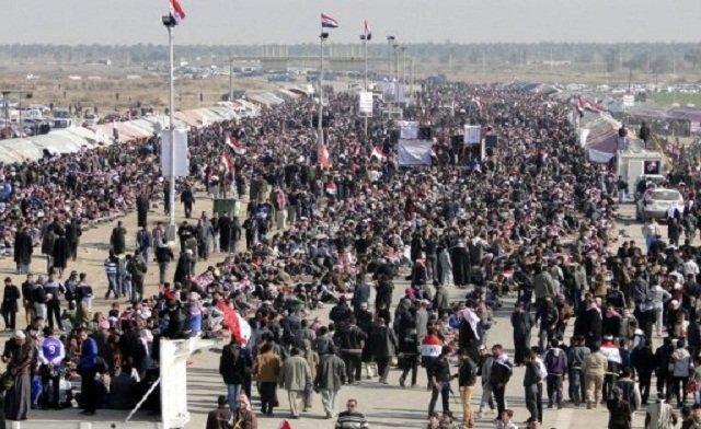 Irakul a închis singurul punct de trecere a frontierei cu Iordania