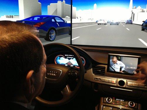 Un pas spre viitor. Audi se pregăteşte să construiască maşini care se conduc singure