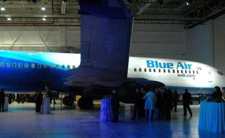 Blue Air nu îşi mai înnoieşte flota de avioane. Compania a anulat o comandă pentru cumpărarea a cinci aeronave Boeing