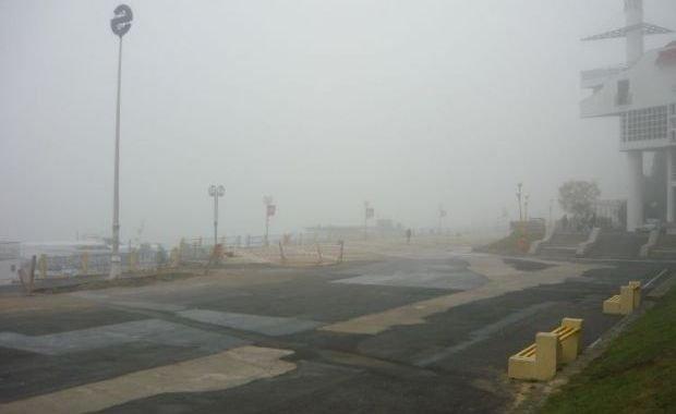 Porturile de la Marea Neagră au fost închise, din cauza ceţii