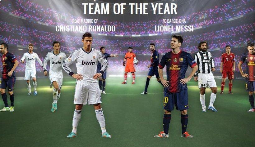 UEFA a anunţat echipa ideală a anului 2012: Dominaţie spaniolă, dar lipseşte Falcao