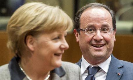 Angela Merkel, despre relaţia franco-germană: Simt o foarte mare apropiere