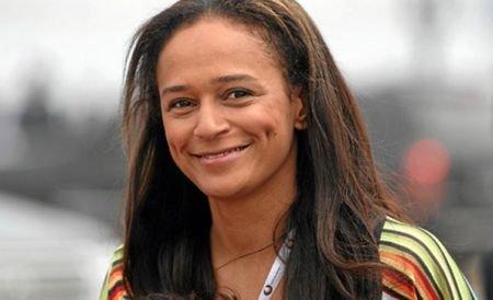 Ea este prima miliardară din Africa. Vine din Angola şi este fiica preşedintelui