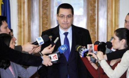 Ponta prezintă marţi bugetul pe 2013 grupurilor USL, UDMR şi minorităţilor naţionale