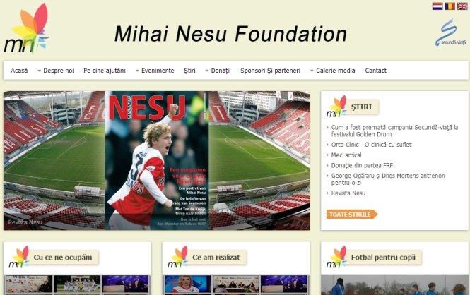Fundaţia Mihai Neşu are o nouă pagină oficială de Internet. Află cum poți ajuta