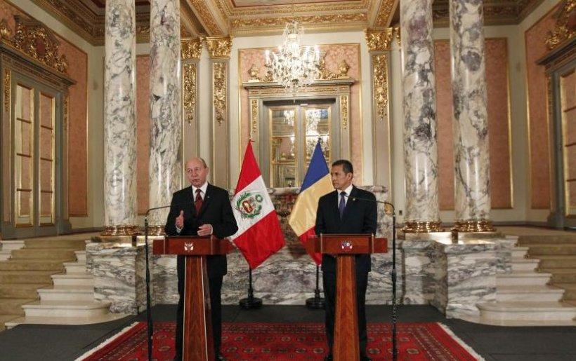 România va încheia, cel târziu în 2014, un parteneriat strategic cu Peru