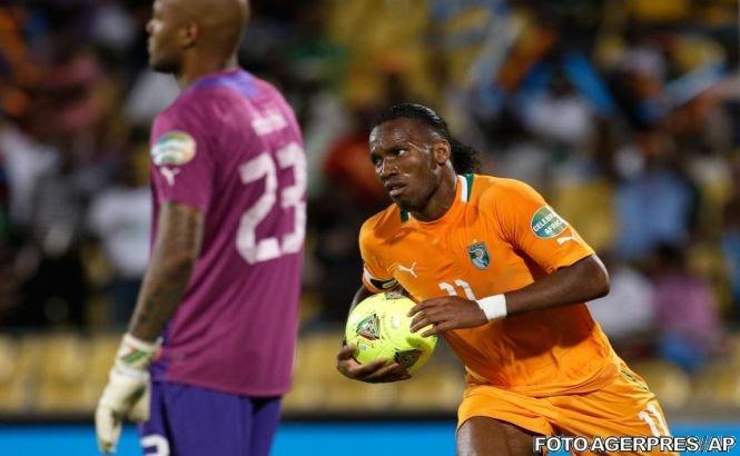 S-au stabilit sferturile de finală de la Cupa Africii: Coasta de Fildeş - Nigeria, capul de afiş