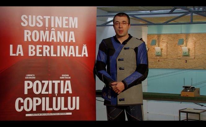 Campionul olimpic Alin Moldoveanu pariază pe filmul românesc