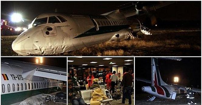 """Filmul incidentului aviatic în care a fost implicat avionul Carpatair. Pasager: """"Am avut impresia că pilotul NU ştia să piloteze"""""""