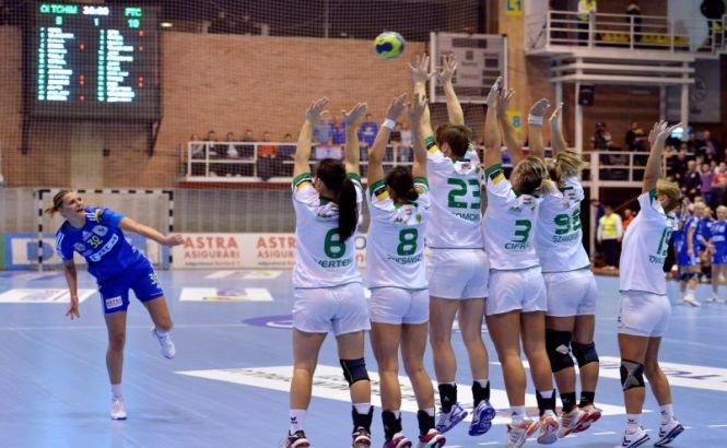Oltchim Râmnicu Vâlcea a pierdut primul meci din grupele principale ale Ligii Campionilor, 22-23 cu Ferencvaros Budapesta