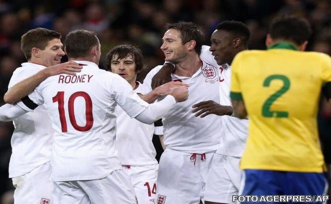 Anglia a învins Brazilia, Franţa a pierdut acasă cu Germania. Rezultatele meciurilor amicale disputate miercuri