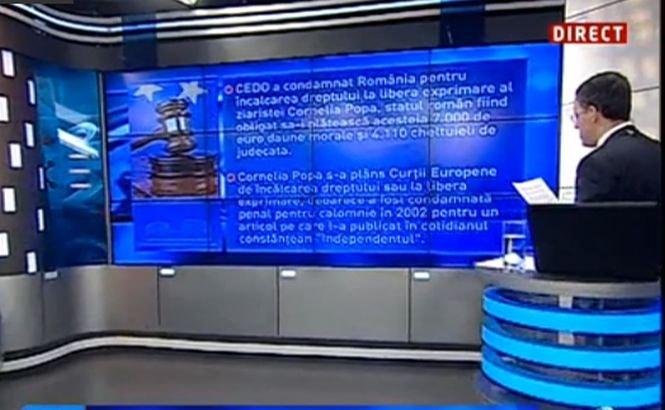 CEDO, în conflict cu raportul MCV? Cazul care arată că instanţele româneşti sunt criticate la CEDO că încalcă dreptul jurnaliştilor la libera exprimare