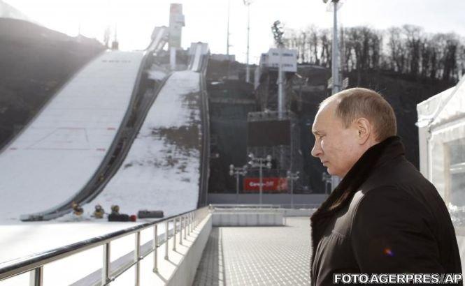 Putin l-a demis pe vicepreşedintele Comitetului Olimpic Rus, din cauza problemelor de la complexul de sărituri cu schiurile