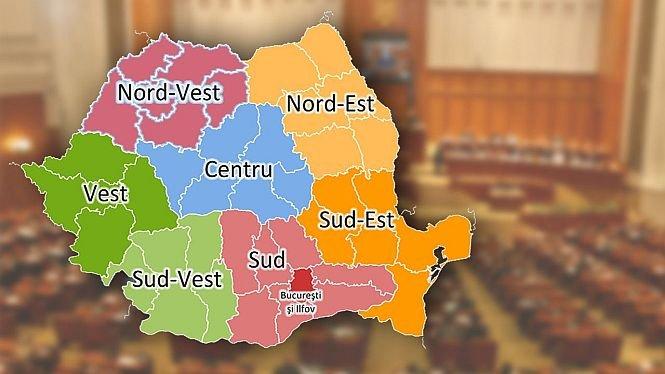 Regionalizarea României prinde contur. Cum ar putea deveni Sibiul capitala unei regiuni