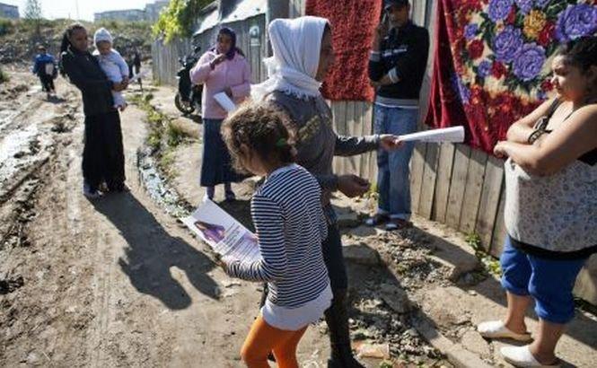 The Sun: Romii trăiesc la groapa de gunoi din Cluj şi vor să vină în Marea Britanie