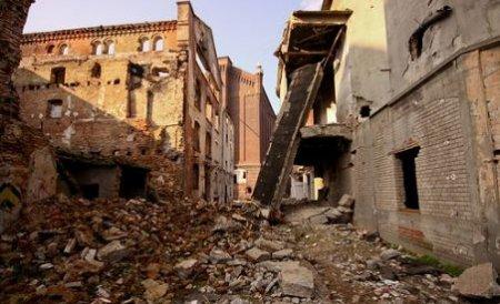 Un zid s-a prăbuşit la Moara lui Assan