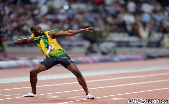 Usain Bolt va juca în meciul celebrităţilor, la All Star Weekend
