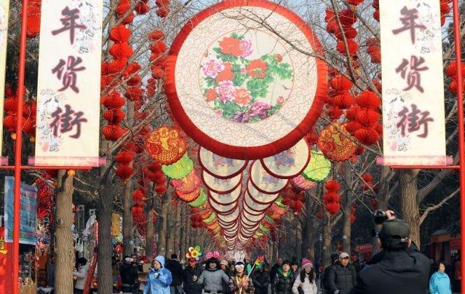 China sărbătoreşte intrarea în Anul Şarpelui