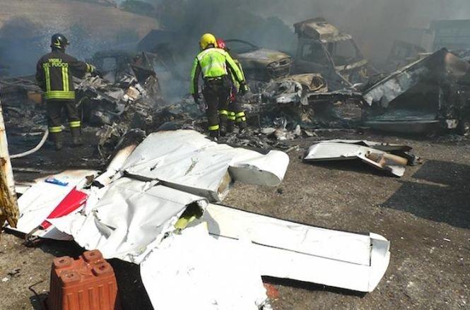 Un avion de mici dimensiuni s-a prăbuşit în Belgia. Toţi pasagerii au murit