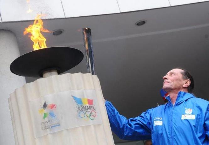 Torţa olimpică a FOTE a ajuns la Braşov