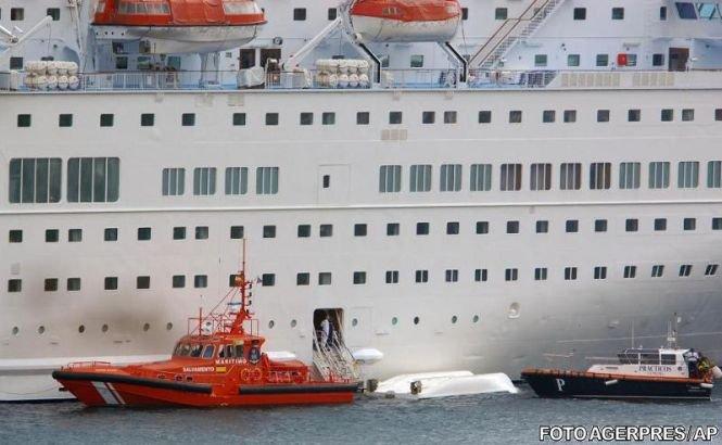 Accident pe o navă de croazieră. 5 oameni au murit după prăbuşirea unui tender