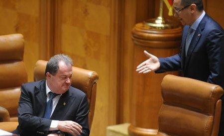 Război între Ponta și Blaga: Vreau să îi spun că mort este el!