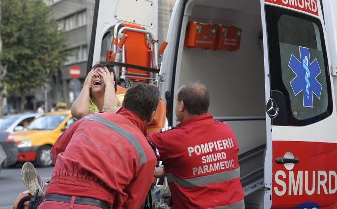 Opt bulgari, răniţi într-un accident produs pe DN1