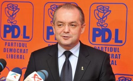 Boc: Viitorul președinte al PDL nu va fi neapărat şi candidatul la prezidenţiale