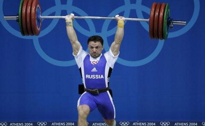 Halterofilul rus Oleg Perepetchenov, deposedat de medalia câştigată la Jocurile Olimpice din 2004