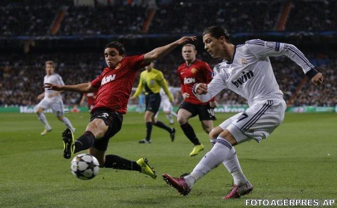 Liga Campionilor: Remiză pe Bernabeu între Real Madrid şi Manchester United. Shakhtar, la trei minute de victorie