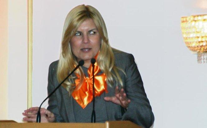 Elena Udrea: Nici nu mă gândesc să candidez la preşedinţia României