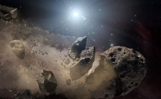 Există o legătură între asteroidul care trece azi pe lângă Terra şi ploaia de meteoriţi din Rusia? Află răspunsul preşedintelui Agenţiei Spaţiale Române