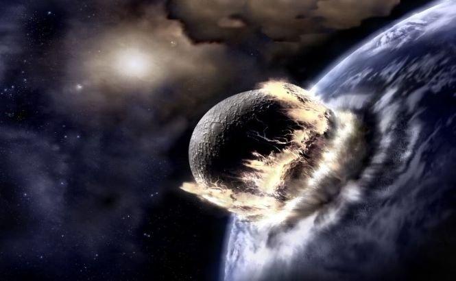 """IMPACTUL cu un asteroid ar schimba TOTAL faţa Pământului. """" Cel puţin 10.000 de ani, gazele toxice rămân în atmosferă !"""""""