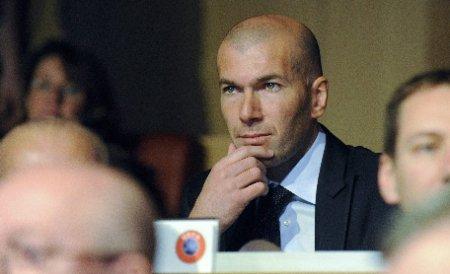 Zinedine Zidane va antrena la o echipă de tineret de la Real Madrid