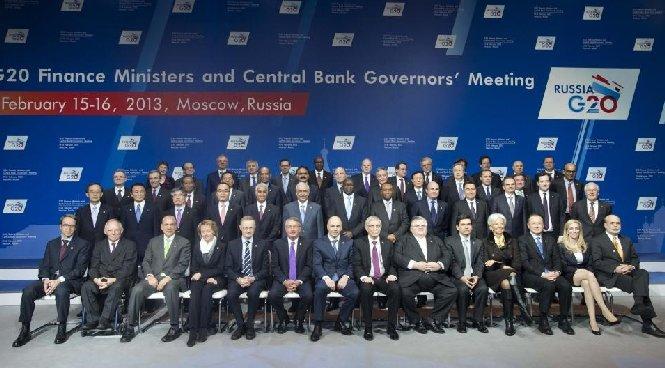 Miniştrii de Finanţe ai G20 pun presiuni pe statele care influenţează cursurile de schimb
