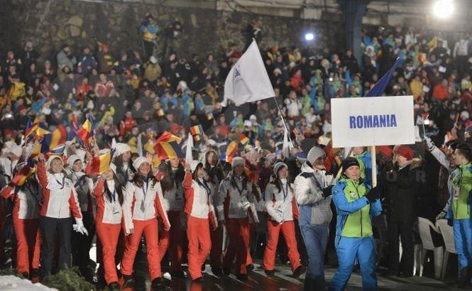 Braşovul, capitala sporturilor de iarnă. Festivalul Olimpic al Tineretului European a luat oficial startul