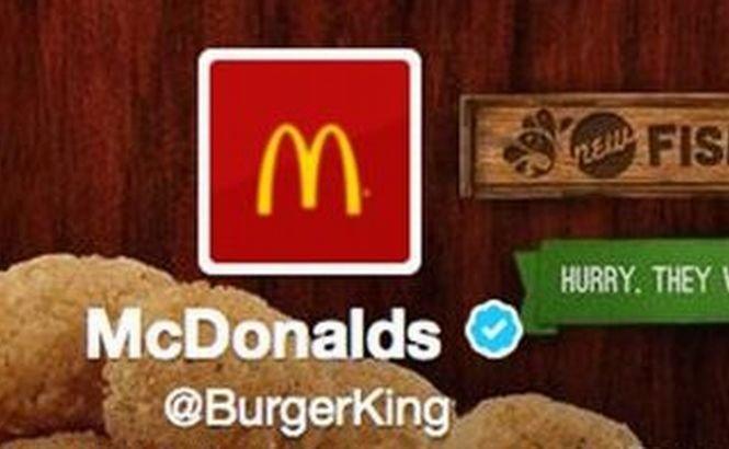 """""""Burger King a fost preluat de McDonald`s"""". Cum a făcut Burger King reclamă pentru concurenţă fără să vrea"""