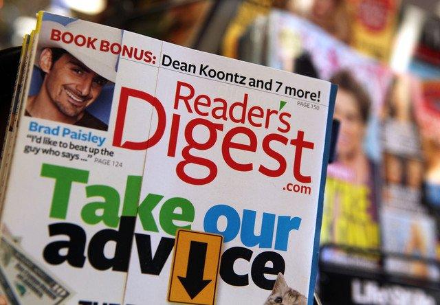 Reader's Digest a cerut intrarea în insolvenţă, pentru a doua oară în mai puţin de patru ani