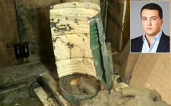Trupul unui parlamentar, găsit într-un BUTOI cu ciment. A fost îngropat de viu