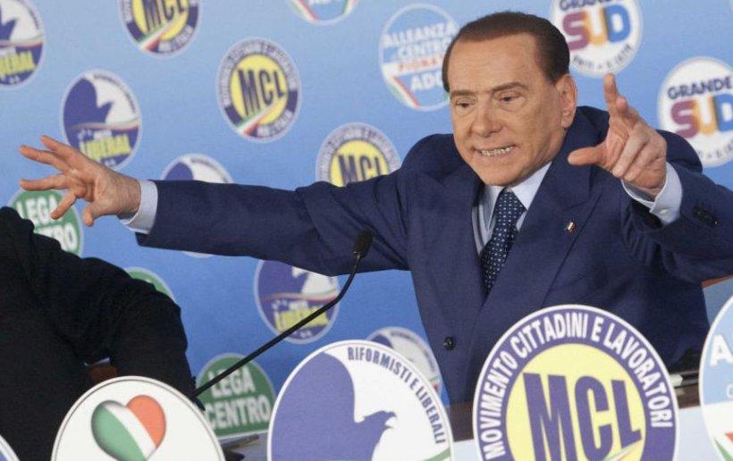 Berlusconi, acuzat de adversari că încearcă să cumpere voturile alegătorilor CU BANII STATULUI. Vezi ce le promite