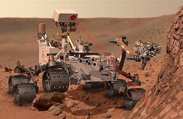 Premieră PLANETARĂ realizată de roverul Curiosity. Ce s-a întâmplat recent pe Planeta Marte